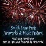 Smith Lake Park Fireworks Festival