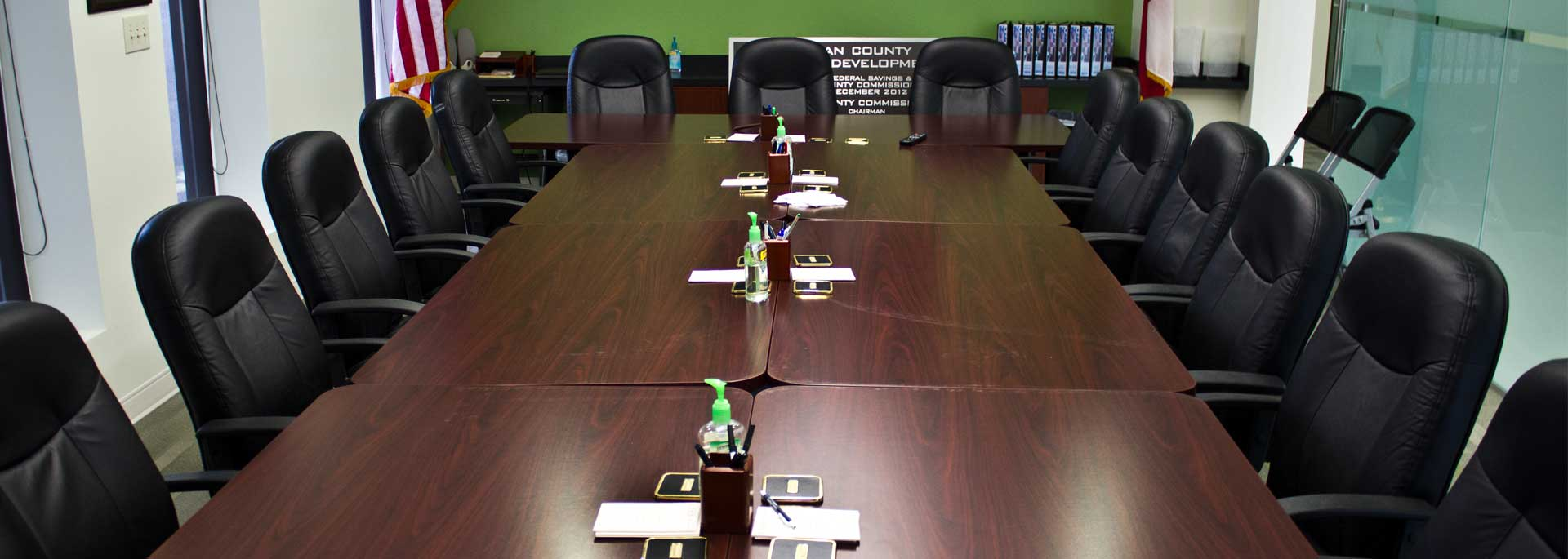 Economic Development Office Board Room