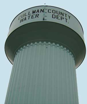 Cullman County Water Tower